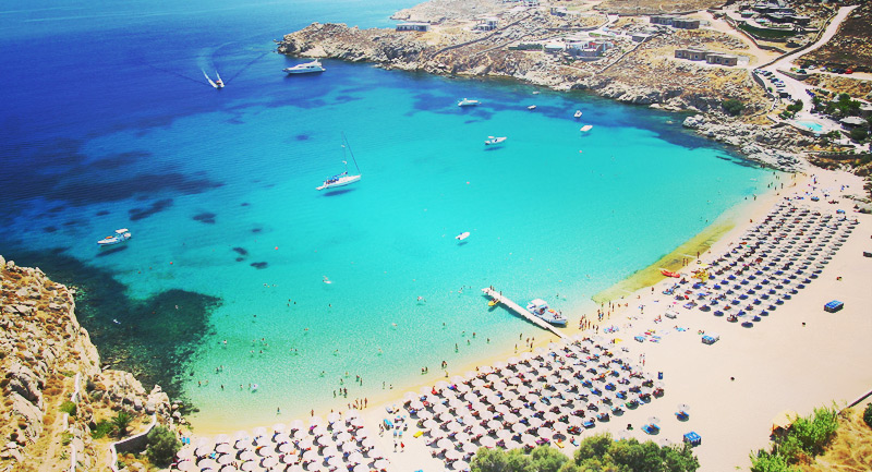 South Beaches Of Mykonos Cruises Yachts Als